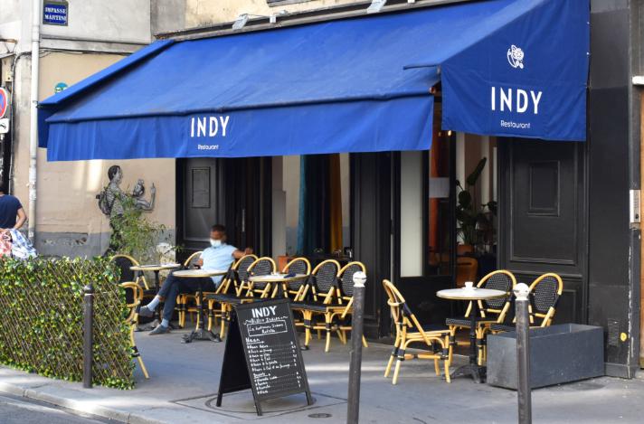 indy restaurant paris devanture