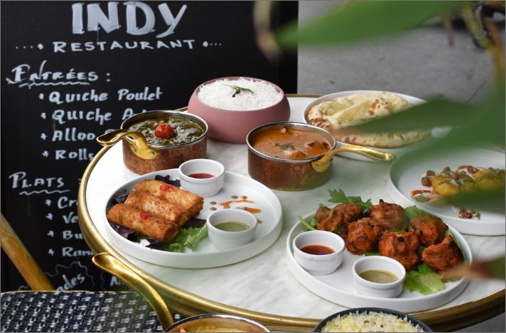 indy restaurant plats indiens terrasse paris